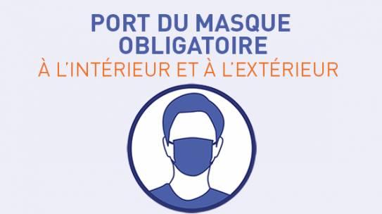 Le port du masque à l'uB